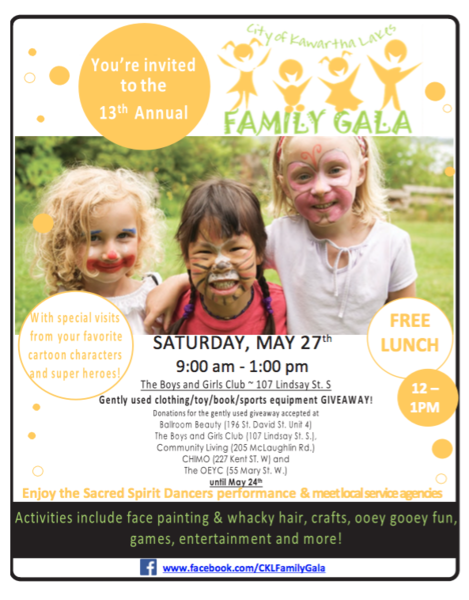 Family Gala Poster 2017