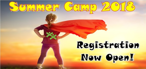2018 Summer Camp Registration Now Open